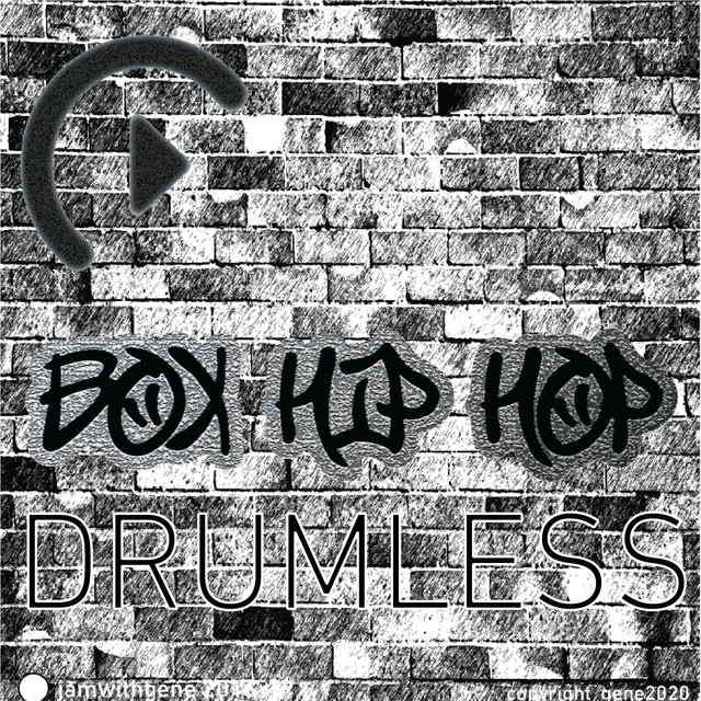 Drumless Hip Hop Backing Track (Click) - BPM 87 - Dm [Ii]